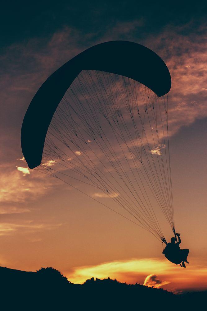 Paragliding kursus kan blive din indgangsvinkel til dit nye liv!